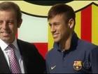 Venda de Neymar para o Barcelona derruba o presidente do clube