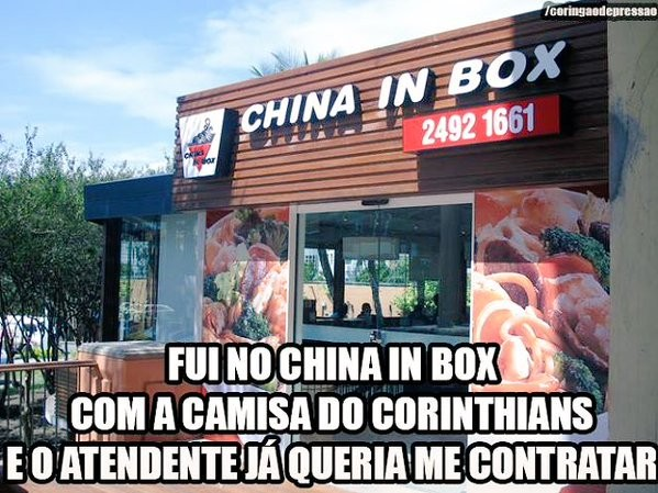 Zoeira Corinthians China