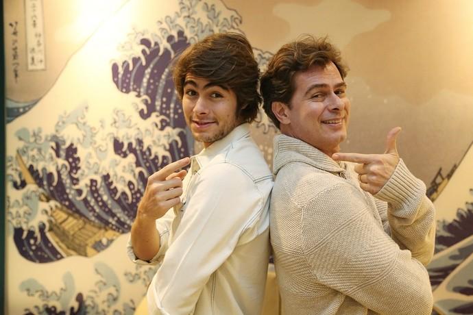 Amigos inseparáveis  (Foto: Carol Caminha/Gshow )