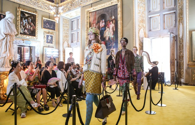 GUCCI CRUISE 18 FIRENZE 29 MAY 2017 (Foto: Courtesy of Gucci – shot by Dan Lecca)