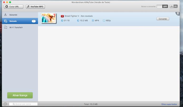 App da Wondershare é o mais pesado da lista (Reprodução)