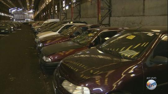 Detran-SP faz leilão de veículos apreendidos em Campinas; Mercedes Benz é destaque