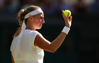Atual campeã, Kvitova erra nas horas decisivas e sofre virada de Jankovic