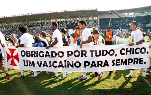 Faixa Vasco Chico Anysio (Foto: Rudy Trindade / Ag. Estado)