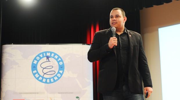 Marcos Ramos, da EasyCrédito, vencedor do Encontre um Anjo 2015 (Foto: Rafael Jota)
