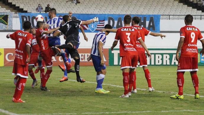 Paysandu x CRB, no Mangueirão (Foto: Júnior de Melo/Assessoria do CRB)