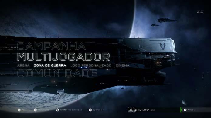 Halo 5: como jogar o novo modo Zona de Guerra (Foto: Reprodução/Murilo Molina)