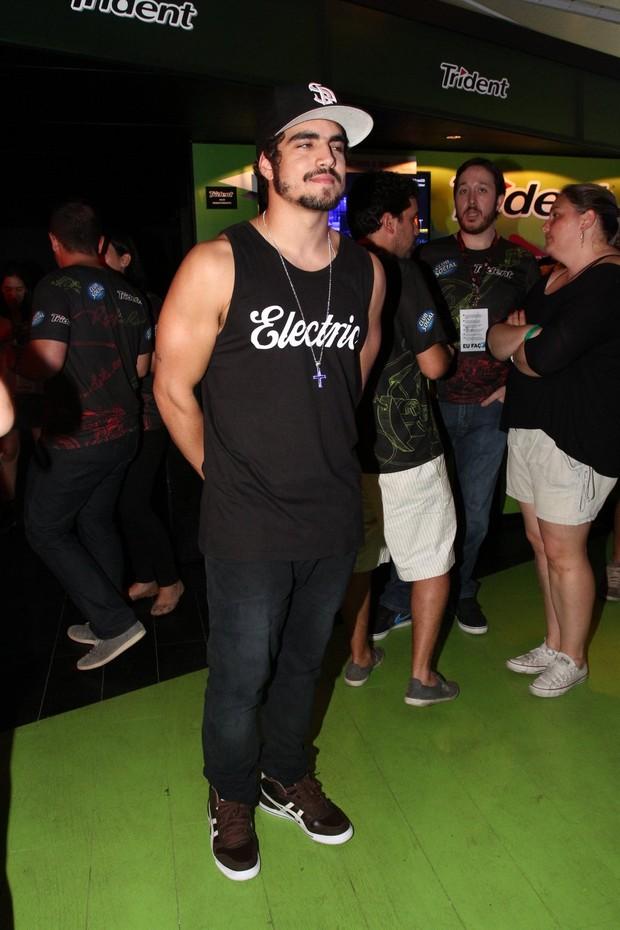 Caio Castro (Foto: Clayton Militão / Foto Rio News)