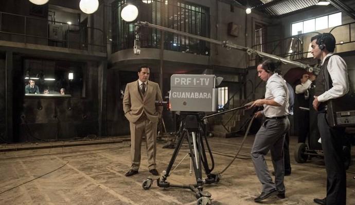 Os cenários foram montados como um labirinto (Foto: Estevam Avellar/TV)