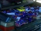 Polícia prende quatro suspeitos de contrabando em Serranópolis, Goiás