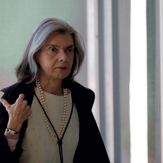 A ministra Cármen Lúcia.Seu voto no caso Aécio abriu espaço para a Alerj resgatar deputados da prisão (Foto:  Ueslei Marcelino/REUTERS)