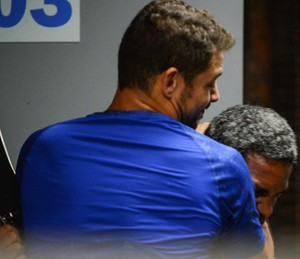 Juliano briga com capanga (Foto: Pedro Carrilho/Gshow)