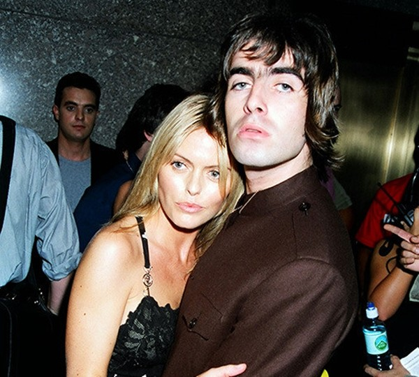 Liam Gallagher e Patsy Kensit (Foto: Getty Images)