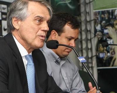 Vilson Ribeiro de Andrade Coritiba Dado Cavalcanti treinador apresentação (Foto: Divulgação / Site oficial do Coritiba)