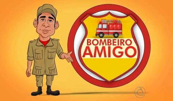 Série Bombeiro Amigo (Foto: Divulgação)