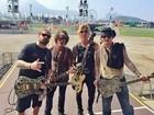 Andreas Kisser fará show no Rock in Rio com Johnny Depp: 'Sabe tocar'