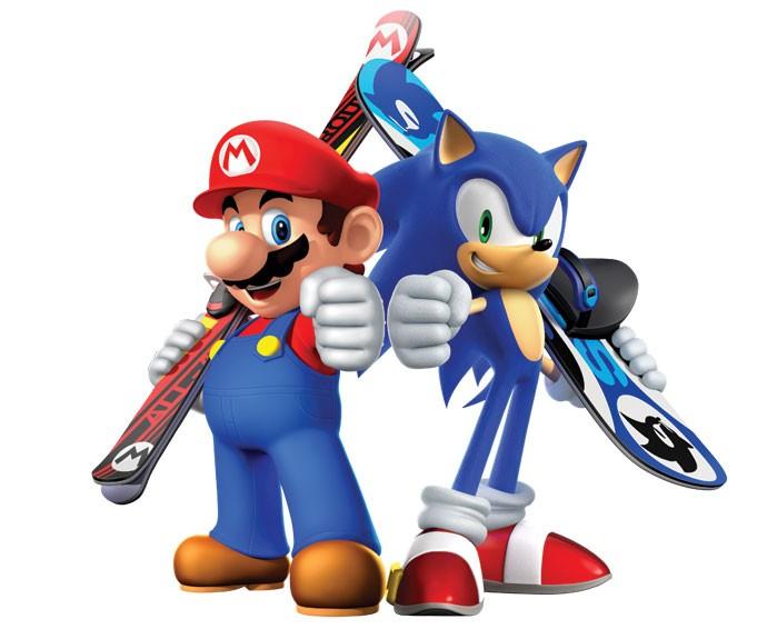Mario x Sonic