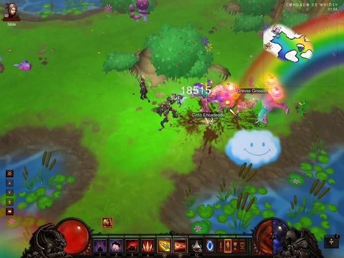 O Condado de Whimsy poderá ser acessado assim que o jogador realizar e encontrar o fantasma do Rei Vaca (Foto: Reprodução/How to play?)