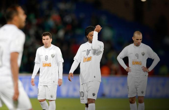 ronaldinho, Atlético-MG x Raja Casablanca (Foto: AP)