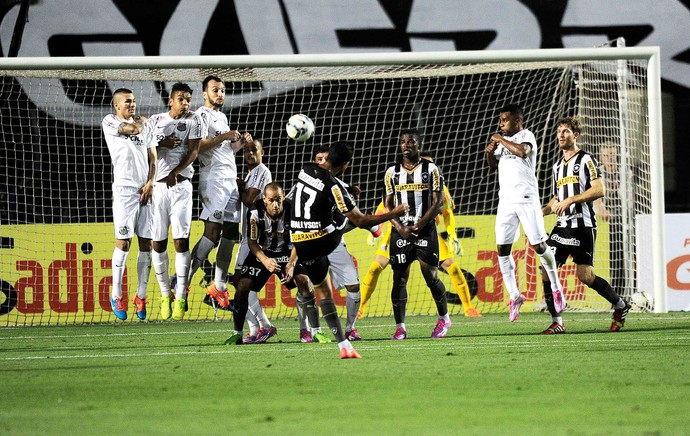Wallyson, Santos X Botafogo (Foto: Marcos Ribolli)