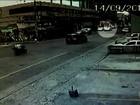 Vigilante diz que viu motorista discutir e apontar arma que dispara flechas