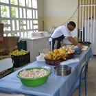 620 pessoas se alimentam no alojamento (Rodrigo Mariano)