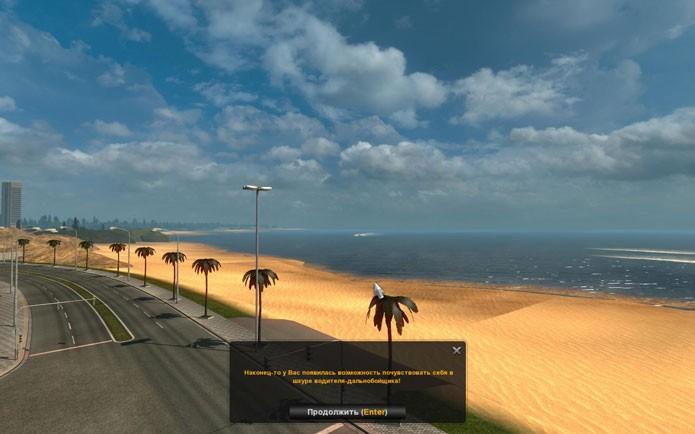 Este mod permite que você leve passageiros por estados do Brasil (Foto: Reprodução/ETS2World)