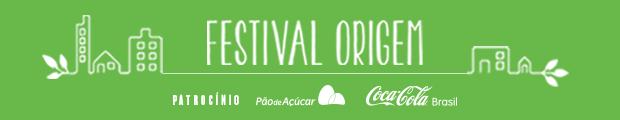 Festival Origem Header com Patrocínios (Foto:  Época)