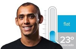 Jadson André termômetro Rio Pro (Foto: GloboEsporte.com)