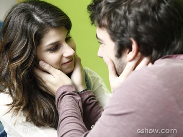 Davi não dá nem chance para Megan e diz que Manu já ganhou essa guerra (Foto: Inácio Moraes/TV Globo)