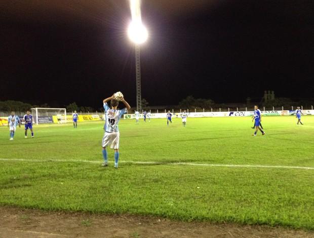 Ji-Paraná e Espigão ficam no empate (Foto: Shara Alencar/GLOBOESPORTE.COM)