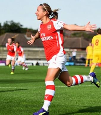 Arsenal feminino (Foto: Arsenal Ladies/ Divulgação)