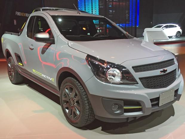 Chevrolet Montana ActivX (Foto: André Paixão/G1)