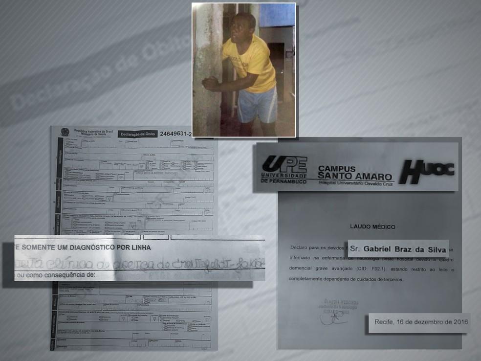 Morte de homem está sob investigação (Foto: Arte TV Globo)