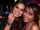Irmã de Neymar vai a festival e diz estar solteira: 'Mas não estou sozinha'