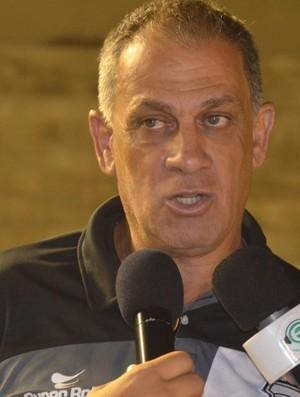 Celso Teixeira, técnico Treze (Foto: Cisco Nobre / GloboEsporte.com)