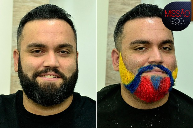 Transformação Lucas Pasin (Foto: Roberto Teixeira/EGO)