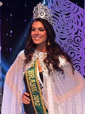 Gabriela Markus é coroada Miss Brasil 2012. (Foto: André Teixeira / G1)
