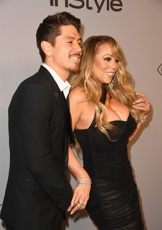 Bryan Tanaka e Mariah Carey (Foto: Getty Images)