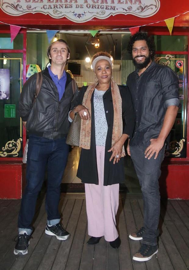 André Dias, Dhu Moraes e Renan Monteiro (Foto: Daniel Pinheiro/AgNews)