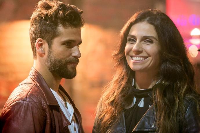 Bruno e Giovanna serão Mario e Alice em 'Sol Nascente' (Foto: Isabella Pinheiro/Gshow)