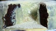 Aprenda a fazer um bolo vulcão de chocolate