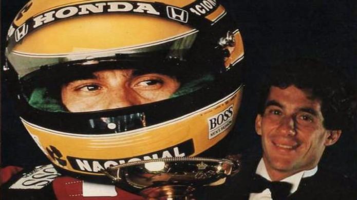 Ayrton Senna estrelou um dos mais marcantes jogos de corrida da geração 8 Bits (Foto: GameFaqs)