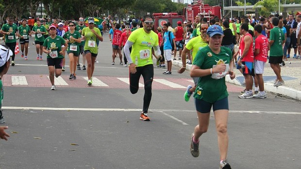 Corrida Pedestre Tiradentes (Foto: Adeilson Albuquerque/GLOBOESPORTE.COM)
