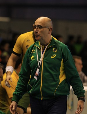 Jordi Ribera, Brasil x Paraguai, Pan-Americano, handebol (Foto: Cínara Piccolo/Photo&Grafia)