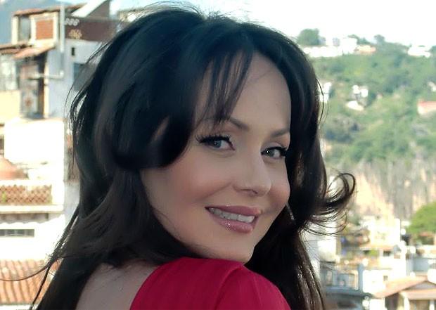 Gaby caracterizada como Alma, da novela 'La Otra Cara del Alma', seu ...