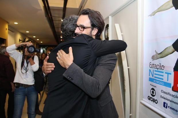 Rodrigo Santoro e Selton Melo (Foto: Daniel Pinheiro/AgNews)