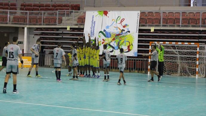 Espírito Santo, Handebol, Castro Alves, Jogos Escolares (Foto: Mariana Bolsoni/Divulgação)