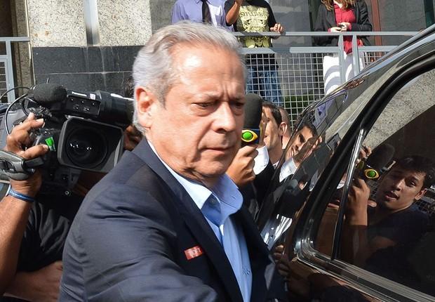O ex-ministro da Casa Civil, José Dirceu (Foto: Fabio Rodrigues Pozzebom/Agência Brasil)