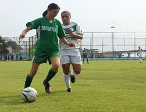 Futsal feminino do Amazonas, Iranduba e Itacoatiara (Foto: Adeilson Albuquerque/Globoesporte.com)